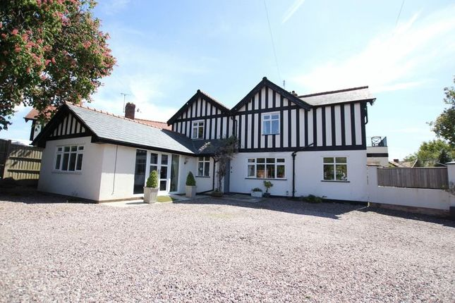 Thumbnail Link-detached house for sale in Manorial Road, Parkgate, Cheshire
