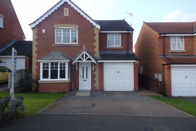 Thumbnail Detached house for sale in Newark Close, Bedlington