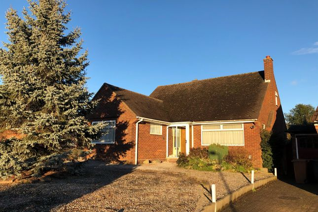 Thumbnail Detached bungalow for sale in The Ridgeway, Hitchin