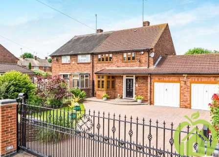 Thumbnail Semi-detached house to rent in Dorking Road, Romford
