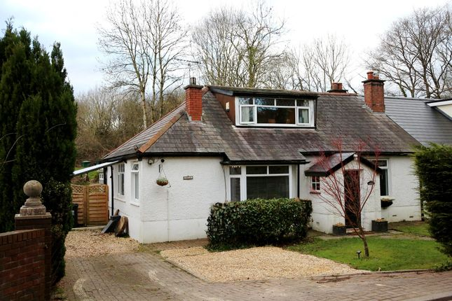 Thumbnail Semi-detached bungalow for sale in Catsash Road, Langstone, Newport
