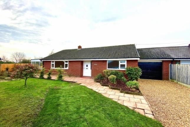 Thumbnail Bungalow for sale in Green Lane, Wardle, Nantwich, Cheshire