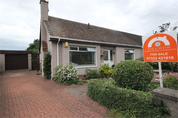 Thumbnail Semi-detached house for sale in Beech Park, Leven, Fife