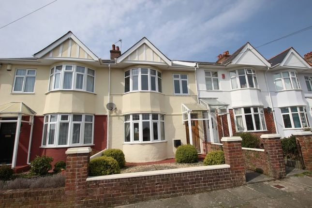 Thumbnail Terraced house for sale in Peverell Terrace, Peverell, Plymouth, Devon