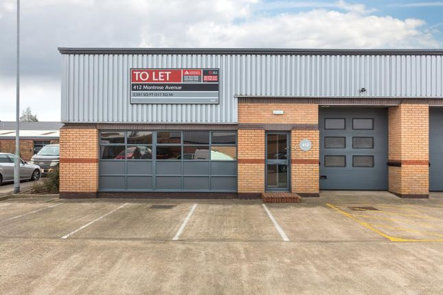 Industrial to let in Perth Trading Estate, Perth Avenue, Slough
