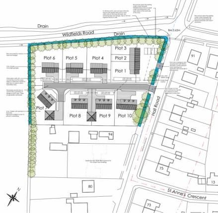Thumbnail Land for sale in Clenchwarton, King's Lynn, Norfolk