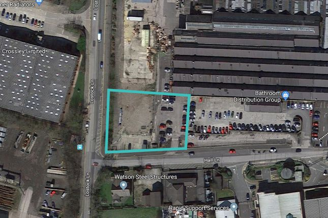 Thumbnail Land for sale in Hall Lane, Bolton