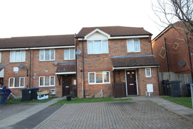 Thumbnail Terraced house to rent in Rendal Close, South Croydon