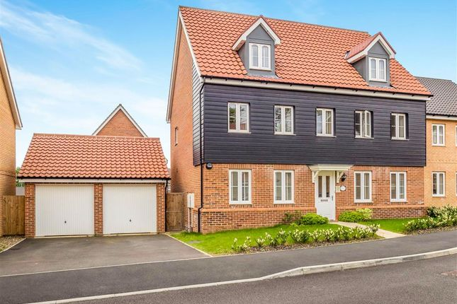 Thumbnail Detached house for sale in Freesia Way, Cringleford, Norwich