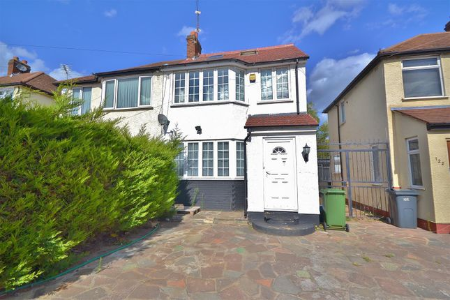 Thumbnail Semi-detached house for sale in Rushden Gardens, Ilford