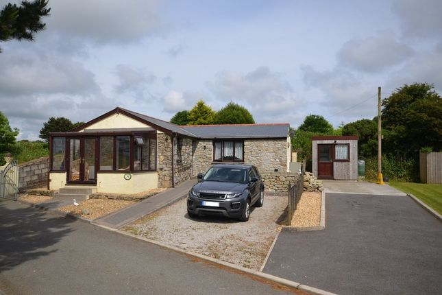 Thumbnail Detached bungalow for sale in Hernis, Penryn