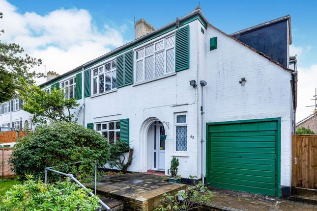 Thumbnail Semi-detached house for sale in Upper Selsdon Road, South Croydon