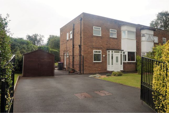 Thumbnail Semi-detached house for sale in Park Road, Donnington Telford