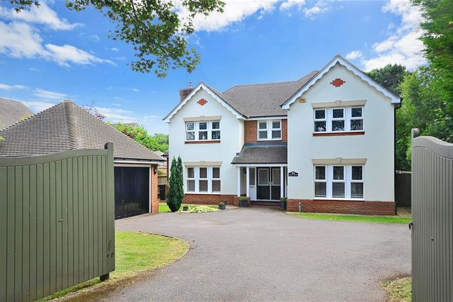 Thumbnail Detached house for sale in Leatherhead Road, Leatherhead, Surrey
