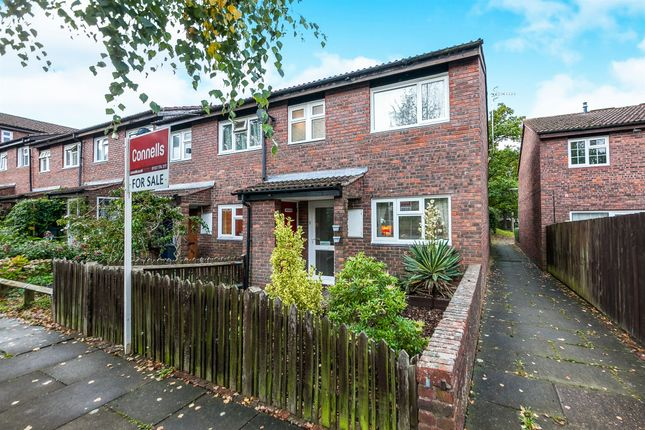 Thumbnail End terrace house for sale in Grantwood Close, Redhill
