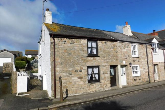 Thumbnail End terrace house for sale in Fore Street, Lelant, Cornwall