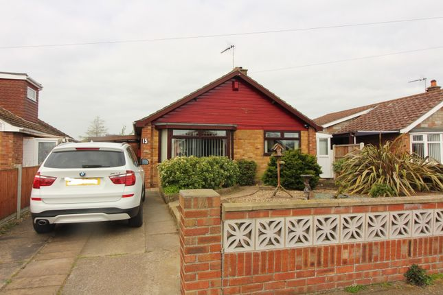 Thumbnail Detached bungalow for sale in Holly Avenue, Bradwell