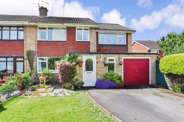 Thumbnail Semi-detached house for sale in Woodlands Close, Uckfield, East Sussex