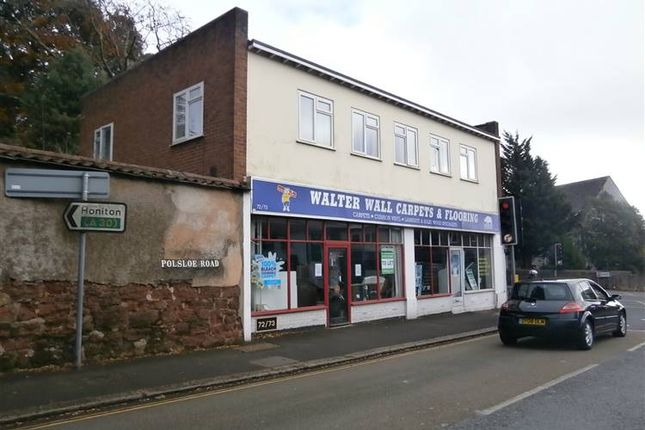 Thumbnail Retail premises to let in Polsloe Road, Exeter