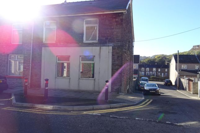 Thumbnail End terrace house for sale in North Road, Porth