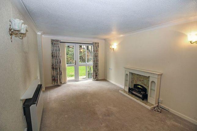 Living Room With Patio Doors Onto Gardens