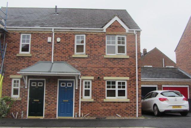 3 bed semi-detached house to rent in Lambton Field, Sherburn Village