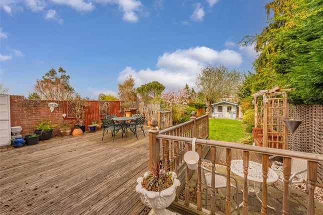 Thumbnail Semi-detached house for sale in Cuddington Avenue, Worcester Park, Epsom