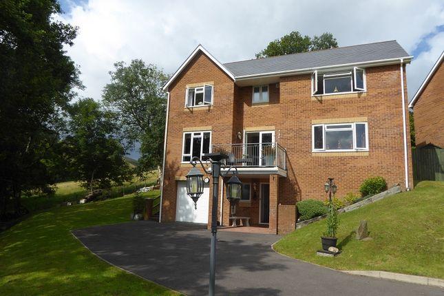 Thumbnail Detached house for sale in Dros Olwg Y Mynydd, Lewistown, Bridgend.