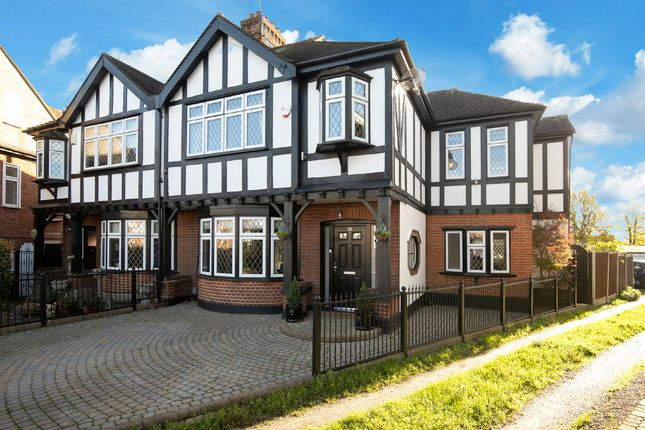 Thumbnail Semi-detached house for sale in Beverley Crescent, Woodford Green, Essex