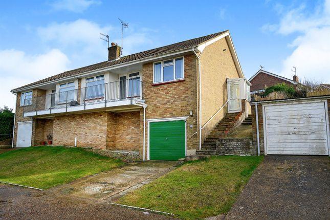 Thumbnail Semi-detached bungalow for sale in Rye Close, Saltdean, Brighton