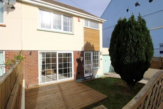 Thumbnail Semi-detached house for sale in Penlee Road, Stoke, Plymouth