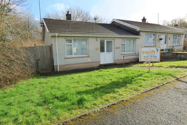 Thumbnail Property to rent in Parc Puw, Drefach Felindre, Llandysul