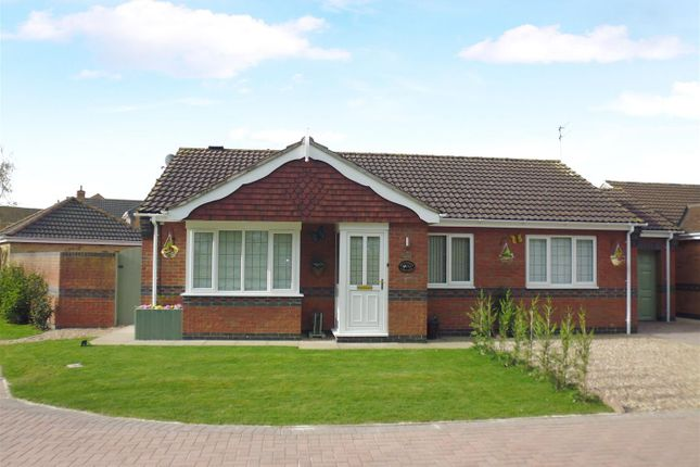 Thumbnail Detached bungalow for sale in Deansway, Branston, Lincoln