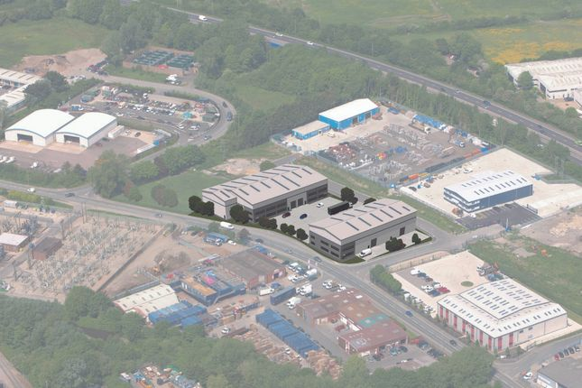 Thumbnail Industrial to let in Units 5-8 Hermitage Park, Harts Farm Way, Havant