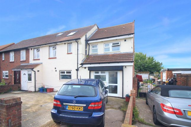 Thumbnail End terrace house to rent in Brabazon Road, Heston