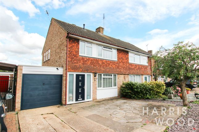 Semi-detached house for sale in Tyehurst Crescent, Colchester