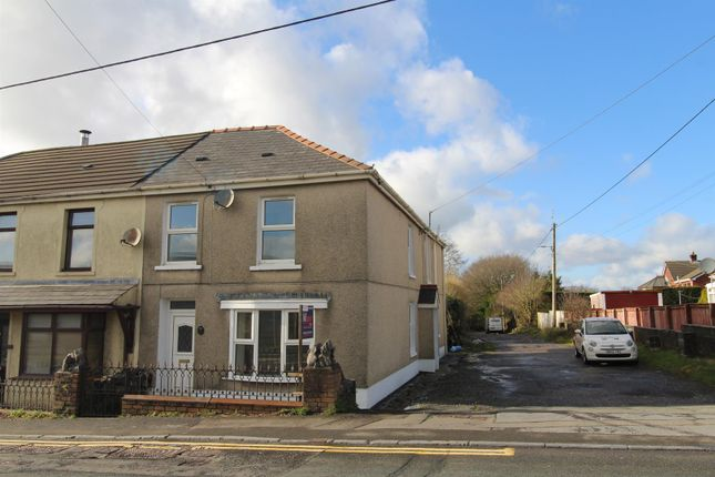 Thumbnail Semi-detached house for sale in Llandeilo Road, Cross Hands, Llanelli