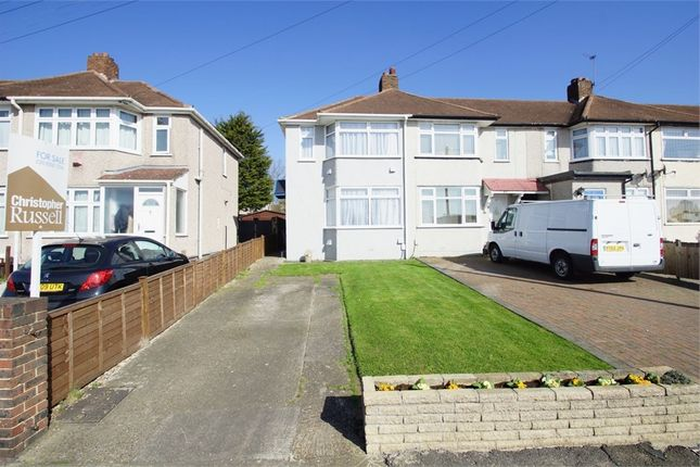 Thumbnail End terrace house for sale in Wellan Close, Sidcup, Kent