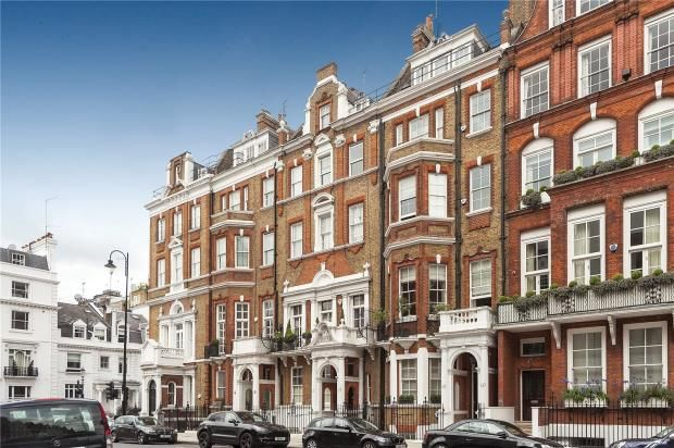 Exterior of Pont Street, Knightsbridge, London SW1X