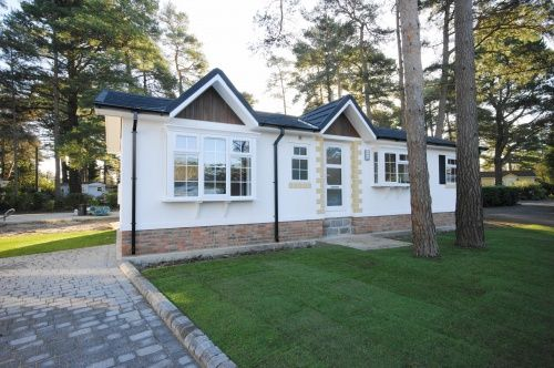 Thumbnail Detached house for sale in Drakes Road, Lone Pine Park, Ferndown