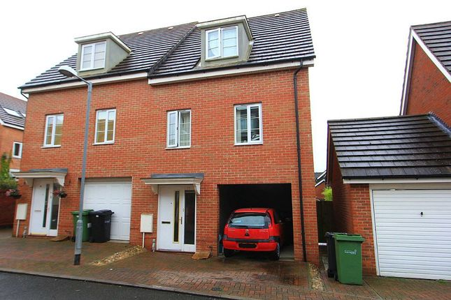 Thumbnail Semi-detached house for sale in Magnolia Way, Queens Hills, Costessey, Norwich, Norfolk