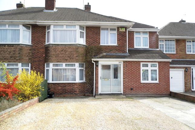 Thumbnail Semi-detached house to rent in Grange Drive, Swindon