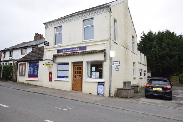 Thumbnail Commercial property for sale in Station Road, St Johns