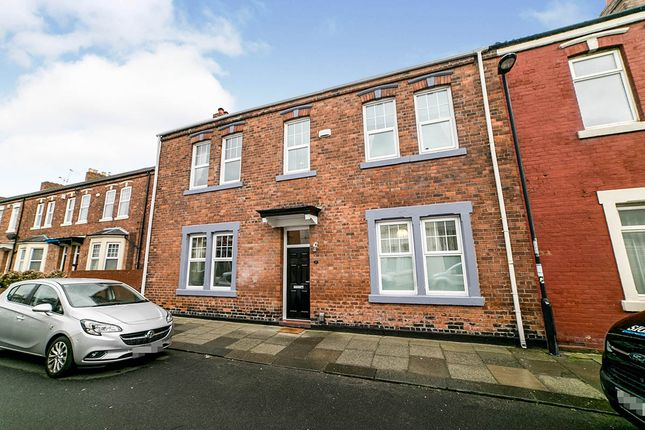 Thumbnail End terrace house for sale in St. Oswins Avenue, North Shields, Tyne And Wear