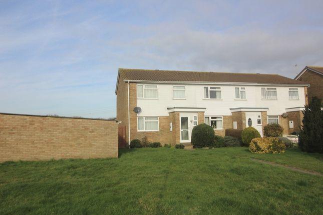 Thumbnail End terrace house for sale in Bridgemere Road, Bridgemere, Eastbourne