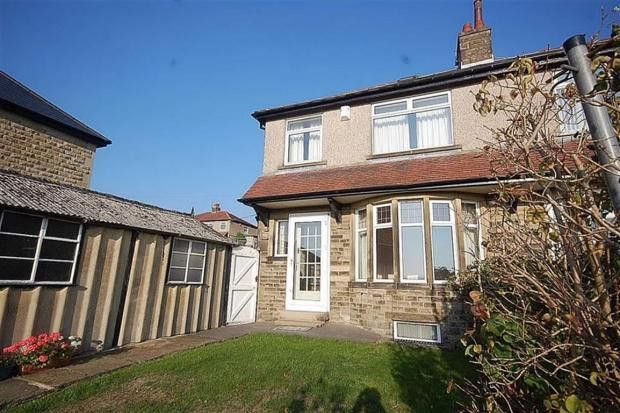 Thumbnail Semi-detached house to rent in Westborough Drive, Halifax, West Yorkshire