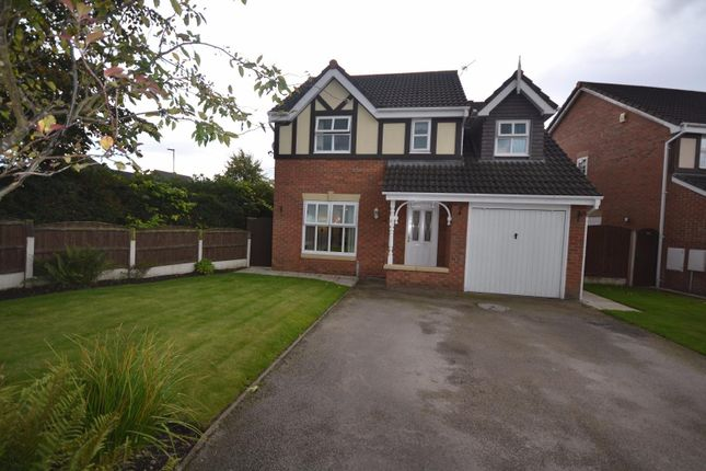 Thumbnail Detached house for sale in Nevada Close, Great Sankey, Warrington