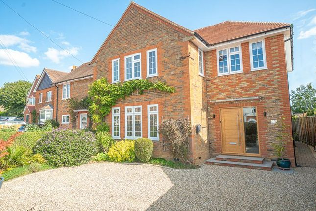 Thumbnail Semi-detached house for sale in Woodside Road, Digswell, Welwyn