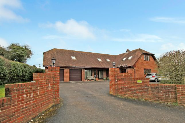 Thumbnail Detached house to rent in Soldridge Road, Medstead, Alton
