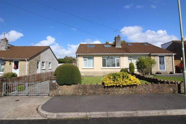 2 bed semi-detached bungalow to rent in Glenwood Close, Coychurch, Bridgend CF35
